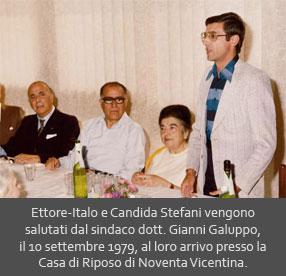 Ettore-Italo e Candida Stefani