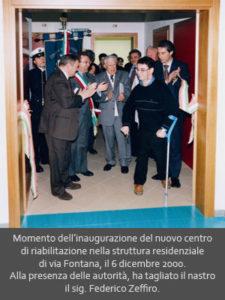 Inaugurazione centro di Riabilitazione