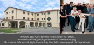 Nuova struttura residenziale Via Fontana